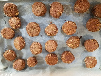 Cooked Mheat balls