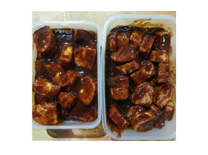 ribs-marinading